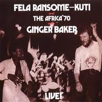 Fela Kuti - Fela Live With Ginger Baker -  Vinyl Record
