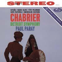 Paul Paray - Chabrier: Espana/ Suite Pastorale/ Fete Polonaise -  45 RPM Vinyl Record