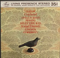 Antal Dorati/London Symphony Orchestra - Copland: Appalachian Spring/Billy The Kid