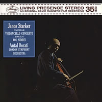 Janos Starker - Dvorak: Concerto for Cello & Orchestra in B Minor