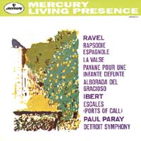 Paul Paray-Ibert: Escales/ Ravel: Rapsodie Espagnole