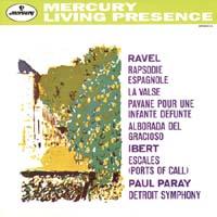 Paul Paray - Ravel: Rapsodie Espagnole/ Ibert: Escales