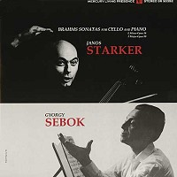 Janos Starker and Gyorgy Sebok - Brahms: Sonatas For Cello & Piano