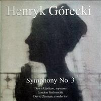 David Zinman - Gorecki: Symphony No. 3/ Upshaw