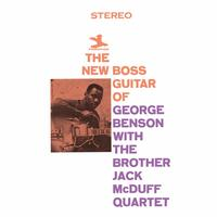 George Benson & The Brother Jack McDuff Quartet - The New Boss Guitar -  Vinyl Record