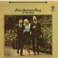 Peter, Paul & Mary - In The Wind -  45 RPM Vinyl Record