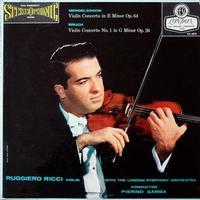 Pierino Gamba - Mendelssohn & Bruch: Violin Concertos -  45 RPM Vinyl Record