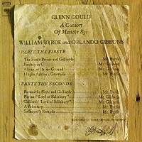 Glenn Gould - A Consort of Musicke Bye William Byrde & Orlando Gibbons