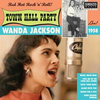 Wanda Jackson - Live At Town Hall Party 1958 -  10 inch Vinyl Record