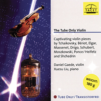 Daniel Gaede, Violin - Xuesu Liu, piano - The Tube Only Violin