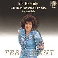 Ida Haendel - J.S. Bach Sonatas and  Partitas