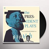 Lester Young and Oscar Peterson - The President Plays With The Oscar Peterson Trio -  Vinyl Record