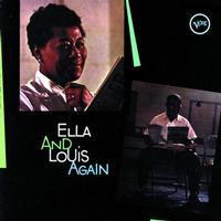 Ella Fitzgerald and Louis Armstrong - Ella And Louis Again -  45 RPM Vinyl Record