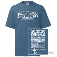 Blue Heaven Studios - 2012 Blues Masters at the Crossroads T-Shirt