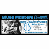 Blue Heaven Studios - Blues Masters at the Crossroads Bumper Sticker