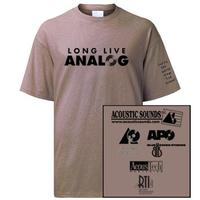 - Long Live Analog Shirt/ Men's XLarge Short Sleeve