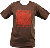 - Vinyl Lives T-Shirt Mesquite (Brown)