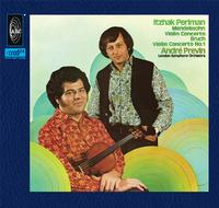 Itzhak Perlman and Andre Previn - Mendelssohn & Bruch: Violin Concertos -  XRCD24 CD