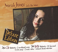 Norah Jones - Feels Like Home - Deluxe Edition -  DVD Video & CD
