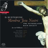 Jos Van Veldhoven - Buxtehude: Membra Jesu Nostri