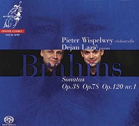 Pieter Wispelwey and Dejan Lazic - Brahms: Sonatas
