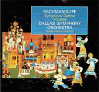 Donald Johanos - Rachmaninoff: Symphonic Dances & Vocalise -  DVD 24/96
