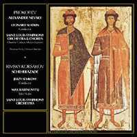 Leonard Slatkin and Jerzy Semkow - Prokofiev: Alexander Nevsky/ Rimsky-Korsakov: Scheherazade