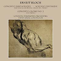 David Amos - Bloch: Concerto Symphonique -  DVD 24/96