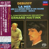 Bernard Haitink - Debussy: Prelude,Nocturnes,La Mer, Iberia -  SHM Single Layer SACDs