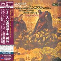 Mehta, VPO - Mahler: Sym. No.2 -  SHM Single Layer SACDs