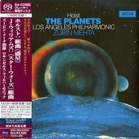 Zubin Mehta & the Los Angeles Philharmonic - Holst: The Planets -  SHM Single Layer SACDs