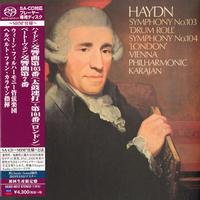 Herbert von Karajan - Haydn: Symphonies Nos. 103 & 104/Beethoven: Sym. No. 7 -  SHM Single Layer SACDs