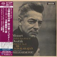 Herbert von Karajan - Mozart: Symphony Nos. 40 & 41/Dvorak: Symphony No. 8