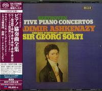 Vladimir Ashkenazy - Beethoven: 5 Piano Concertos Etc.