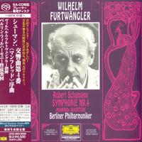Wilhelm Furtwangler - Schumann: Sym. No.4, 'Manfred' Overture -  SHM Single Layer SACDs