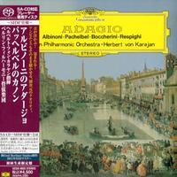 Herbert von Karajan - Adagio: Albinoni, Pachelbel, Boccherini -  SHM Single Layer SACDs
