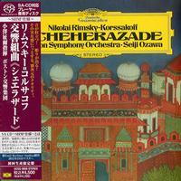 Seiji Ozawa - Rimsky-Korsakov:  Scheherazade -  SHM Single Layer SACDs