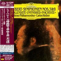 Carlos Kleiber - Schubert: Symphonies No.3 & No. 8 -  SHM Single Layer SACDs
