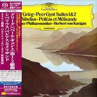 Herbert von Karajan - Grieg: Peer Gynt Suites 1 & 2 -  SHM Single Layer SACDs