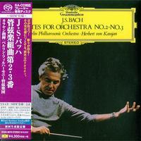 Herbert von Karajan - Bach: Suites For Orchestra Nos. 2 & 3