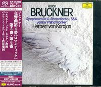 Herbert Von Karajan - Bruckner: Symphonies No.4 Romantic No.5 & No.6