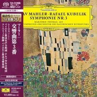Rafael Kubelik - Mahler:  Symphony No. 3 -  SHM Single Layer SACDs