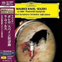 Seiji Ozawa - Ravel: Bolero. Rapsodie Espagnole. La Valse -  SHM Single Layer SACDs