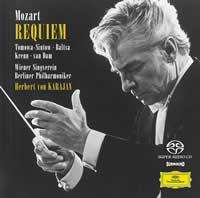 Herbert von Karajan - Mozart: Requiem -  Hybrid Multichannel SACD