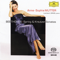 Anne-Sophie Mutter and Lambert Orkis - Beethoven: Spring & Kreutzer Sonatas