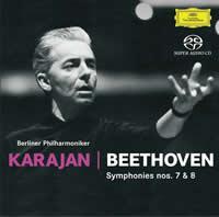 Herbert von Karajan - Beethoven: Symphony Nos. 7 & 8