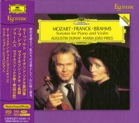 Augustin Dumay and Maria Joao Pires - Mozart/Franck/Brahms: Sonatas For Piano And Violin