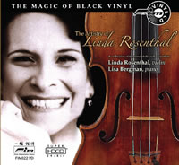 Linda Rosenthal - The Artistry Of... / Black Vinyl Disc -  HDCD CD