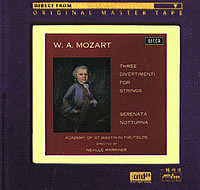 Sir Neville Marriner - Mozart: Divertimenti for Strings, Serenata and Notturna -  XRCD24 CD