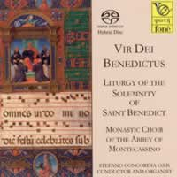 Vir Dei Benedictus - Liturgy of the Solemnity of Saint Benedict